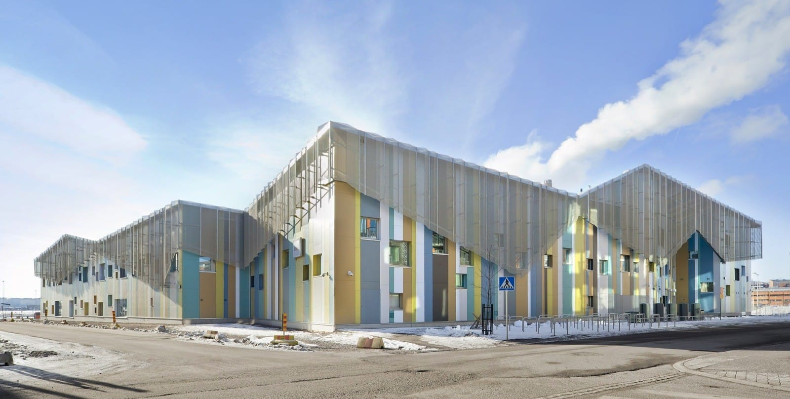 Школа и детский сад Palvakoti Kalasatama в Хельсинки от JKMM Architects, HQ architecture, HQarch, HQ arch, high quality architecture