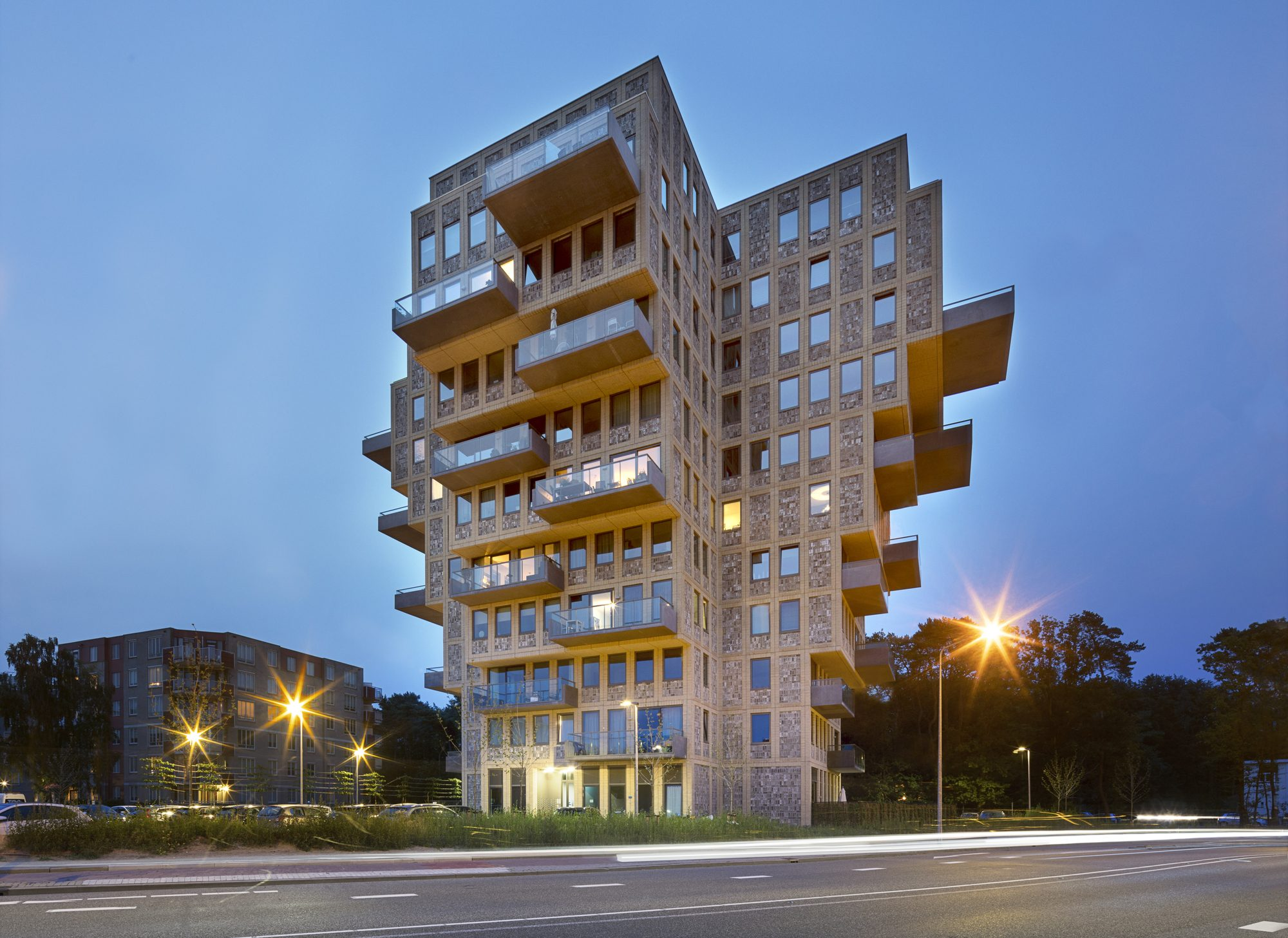 Жилой комплекс Belvedere Tower в Нидерландах от бюро René van Zuuk Architects, HQ architecture, HQarch, HQ arch, high quality architecture