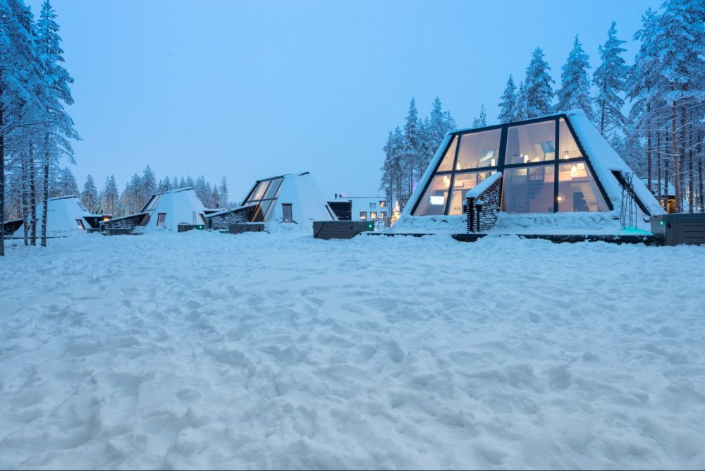 Отель Glass Resort в Лапландии, Финляндия от студии VOID Architecture