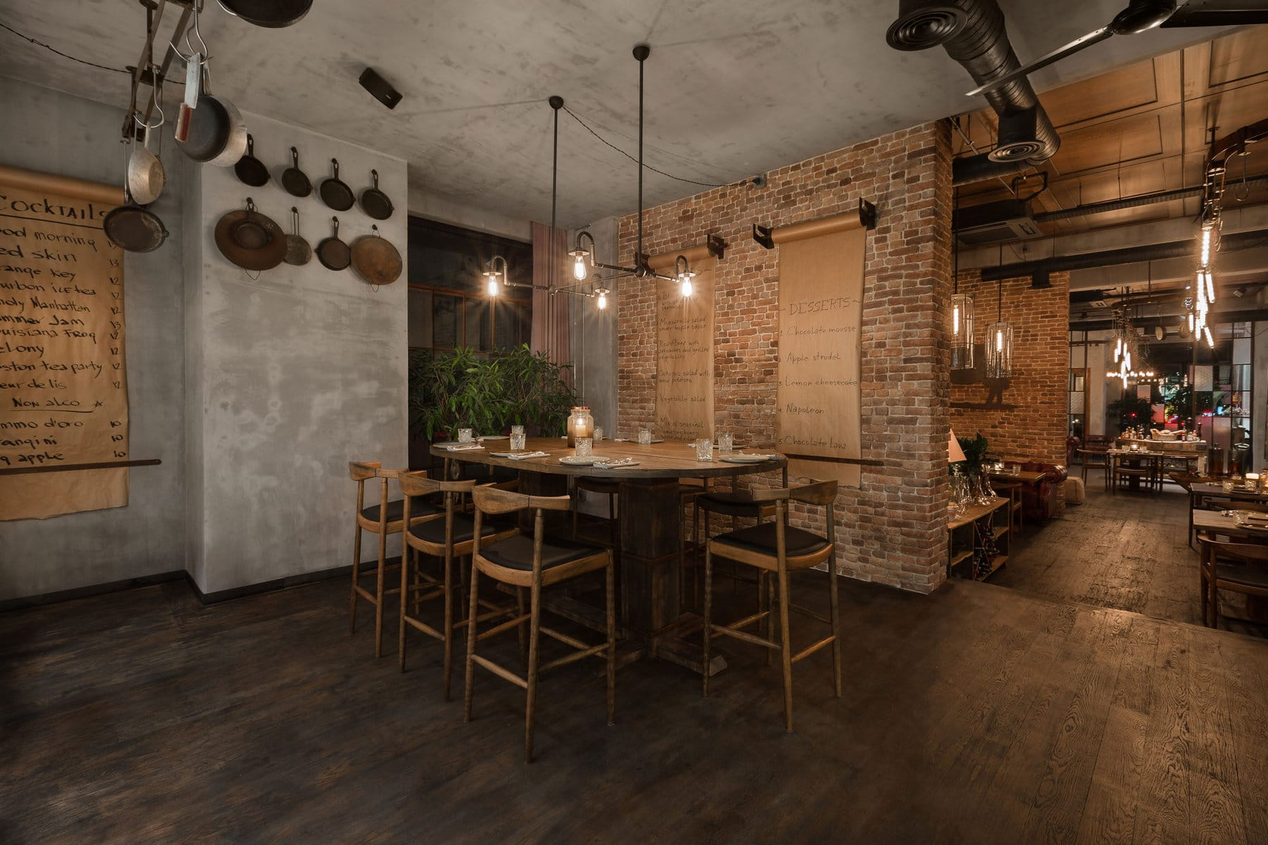 Steak House M'Eat в Баку от студии Беленко, HQ architecture, HQarch, HQ arch, high quality architecture