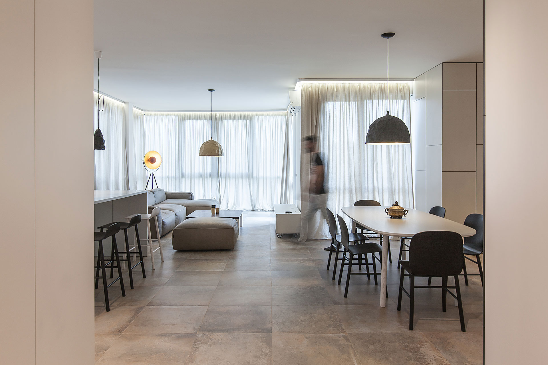 Лофт - апартаменты Victory Apartment в Софии, Болгария от студии VOOOD, HQ architecture, HQarch, HQ arch, high quality architecture