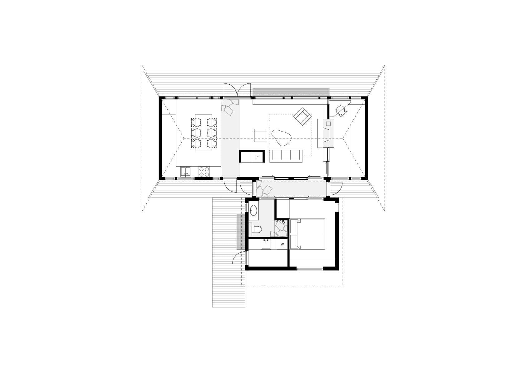 Шале Selestranda House в виде пирамиды на побережье Норвегии, HQ architecture, HQarch, HQ arch, high quality architecture