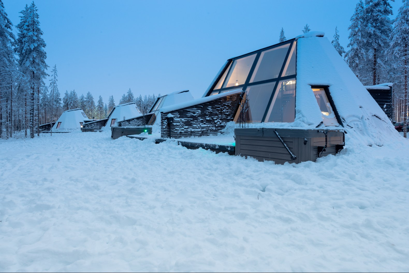 Отель Glass Resort в Лапландии, Финляндия от студии VOID Architecture, HQ architecture, HQarch, HQ arch, high quality architecture