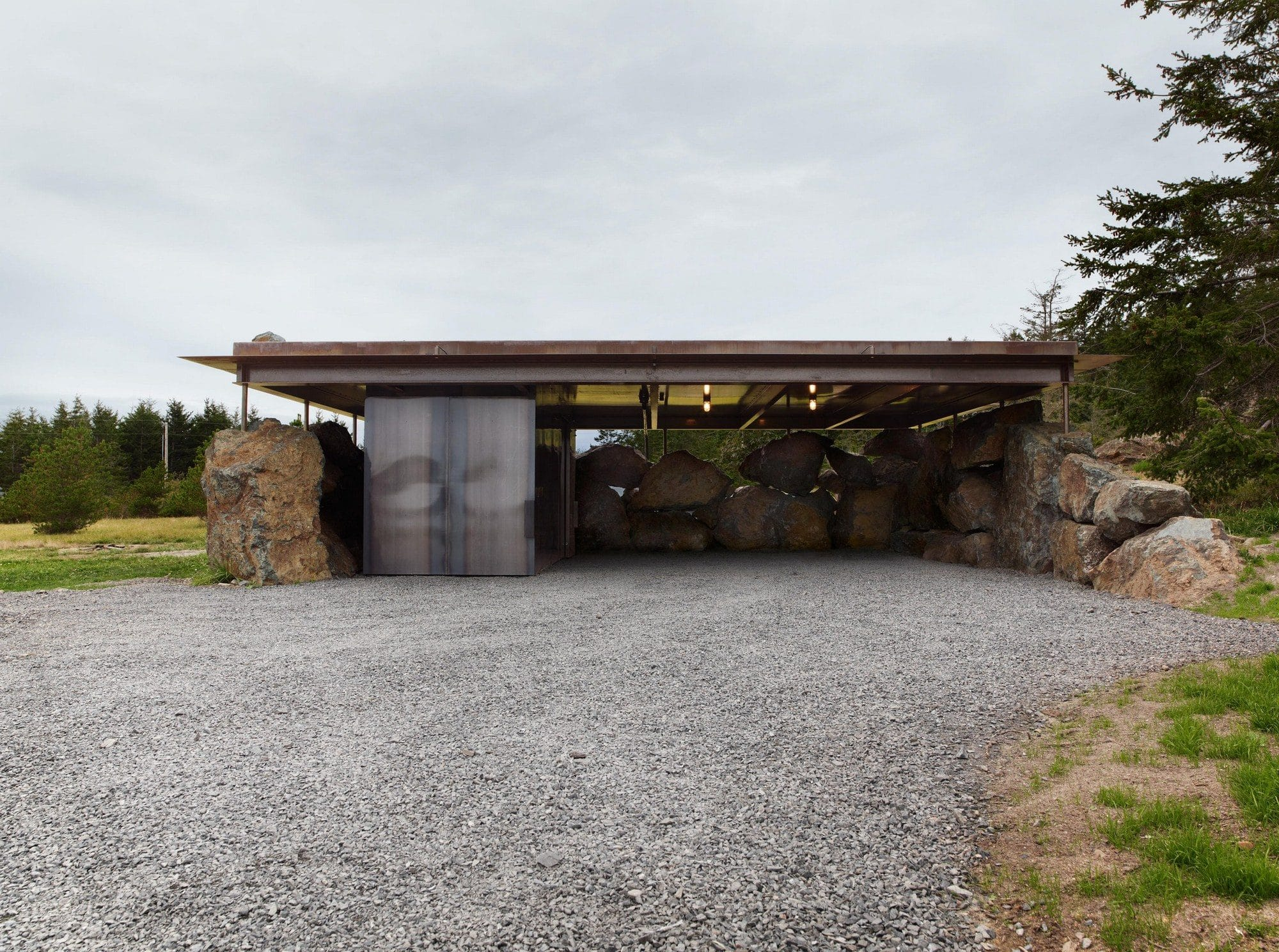 Дом в камне от Olson Kundig Architects, HQ architecture, HQarch, HQ arch, high quality architecture