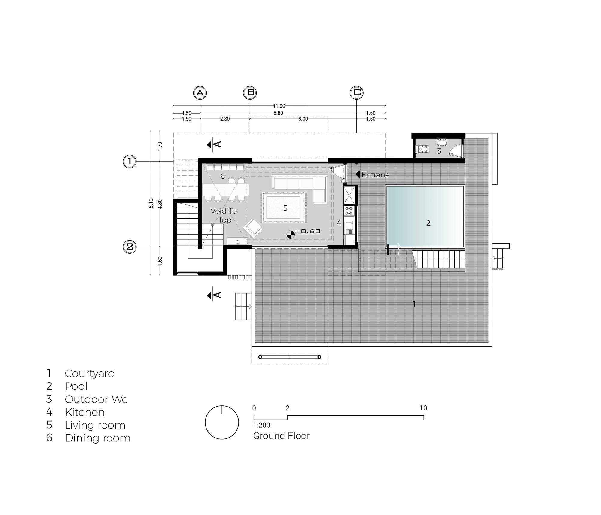 Загородный дом V Villa в Маку, Иран от бюро White Cube Atelier, HQ architecture, HQarch, HQ arch, high quality architecture
