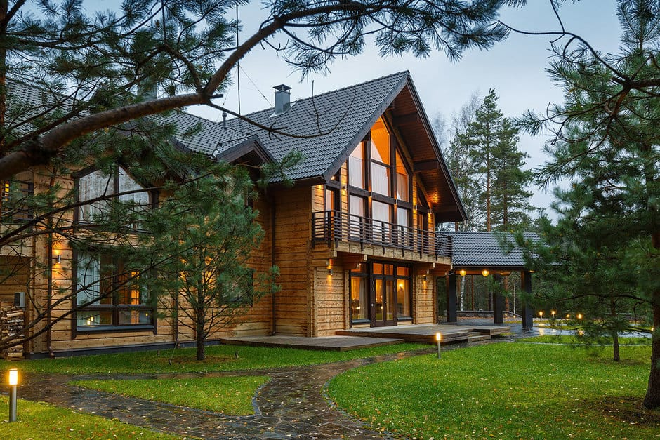 Загородный деревянный дом Honka в Карелии от Марии Ивановой, HQ architecture, HQarch, HQ arch, high quality architecture