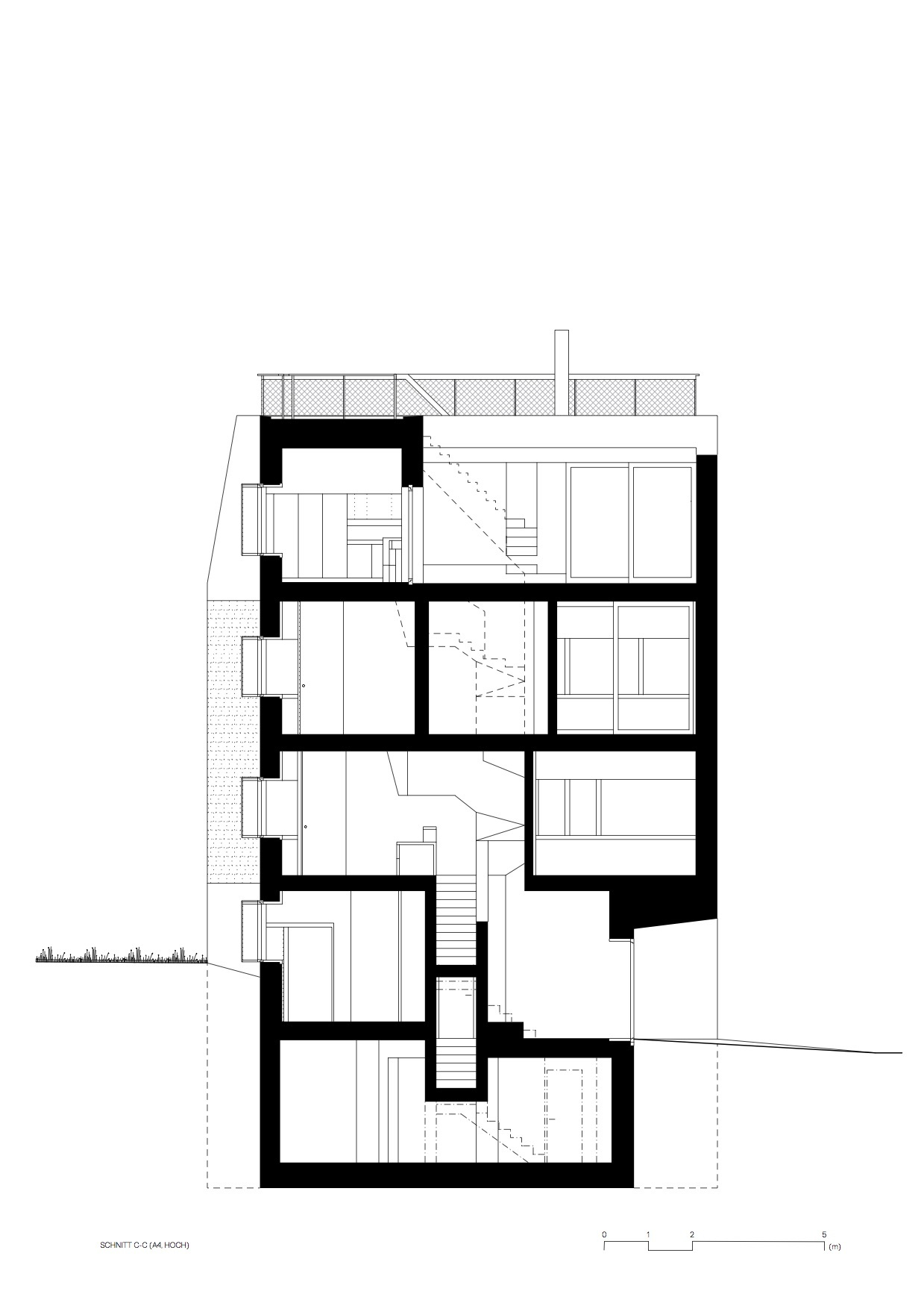 Брутальный дом House Alder в Цюрихе, Швейцария от Andreas Fuhrimann Gabrielle Hächler Architekten, HQ architecture, HQarch, HQ arch, high quality architecture