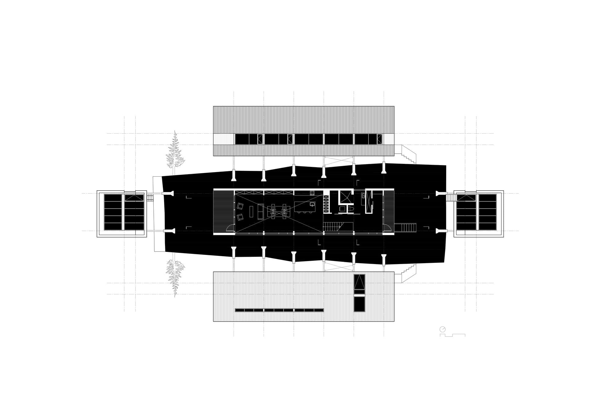 Дом с офисом архитектора в Канаде от студии Peter Braithwaite Studio, HQ architecture, HQarch, HQ arch, high quality architecture