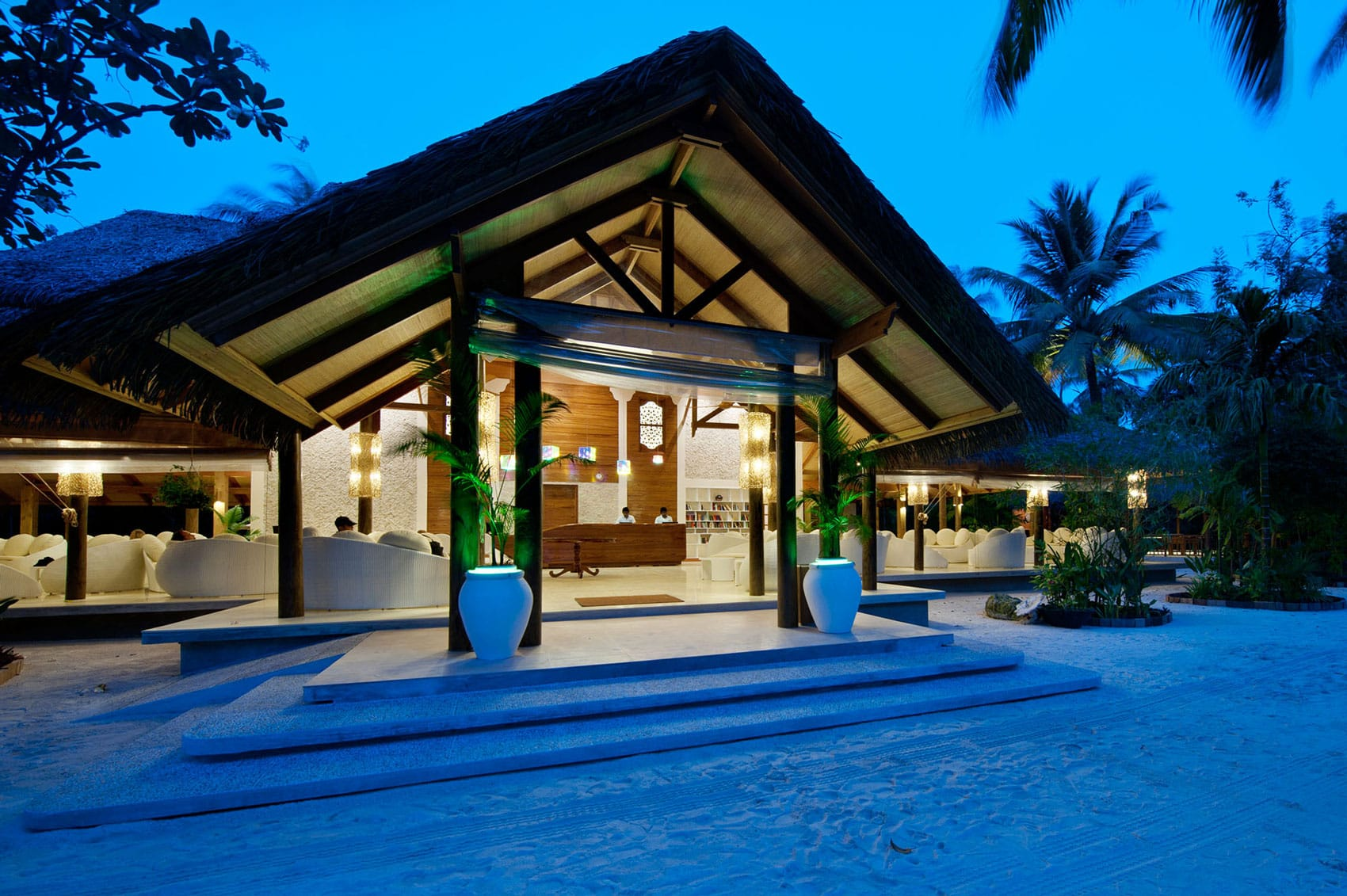 Kuramathi Island Resort на Мальдивских островах от Harper Architecture, HQ architecture, HQarch, HQ arch, high quality architecture