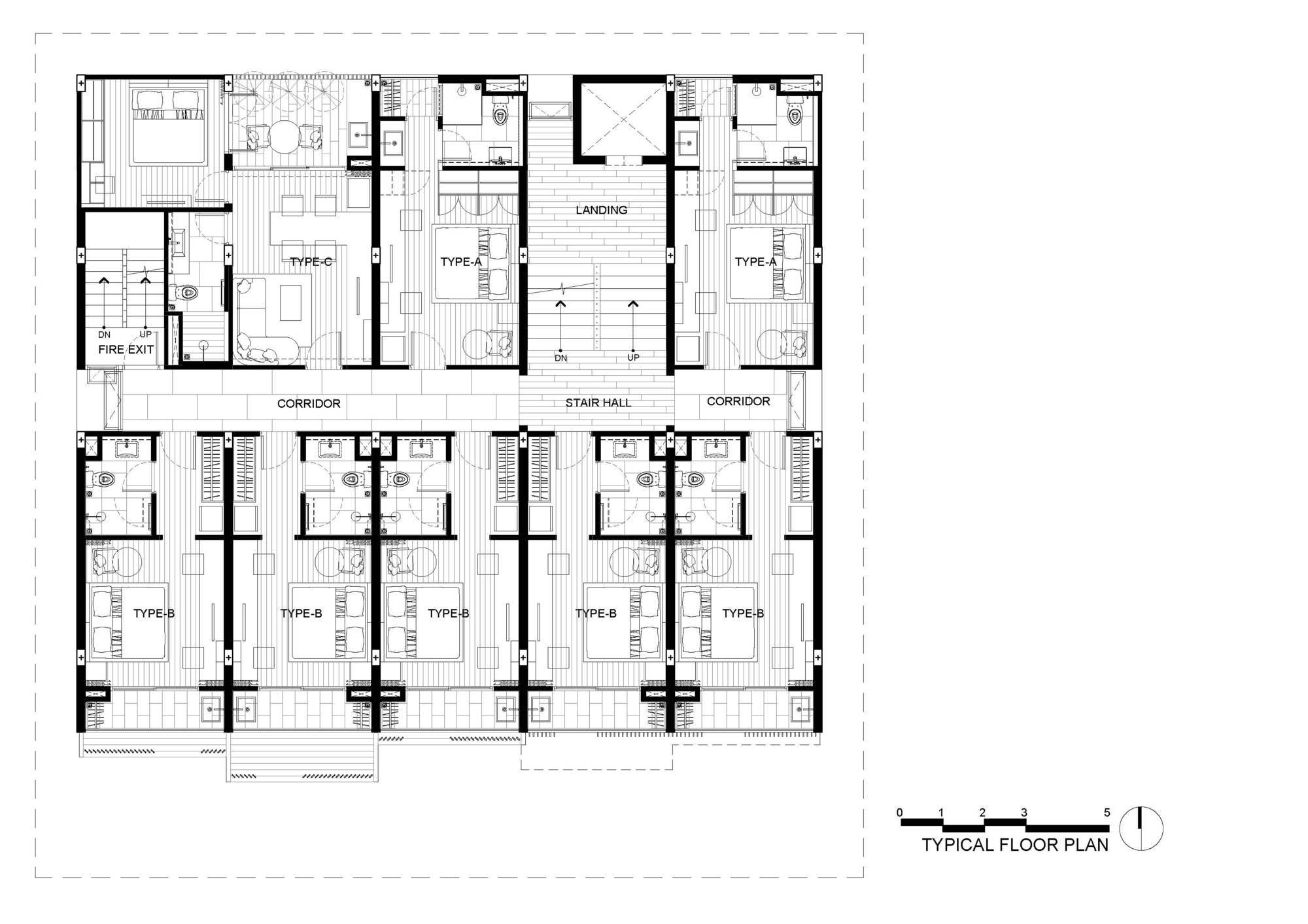 Апарт-отель HACHI в Бангкоке, Тайланд от бюро Octane Architect & Design, HQ architecture, HQarch, HQ arch, high quality architecture