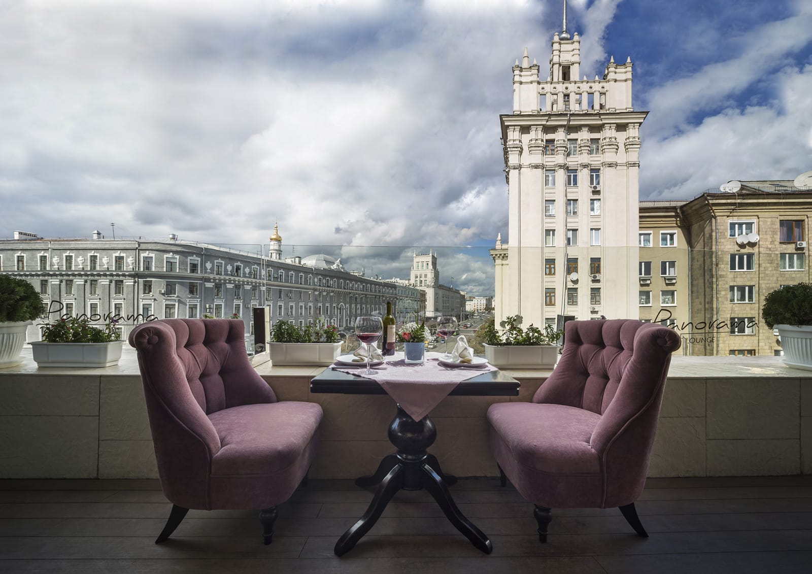Ресторан Panorama Lounge в историческом центре Харькова, Украина, HQ architecture, HQarch, HQ arch, high quality architecture