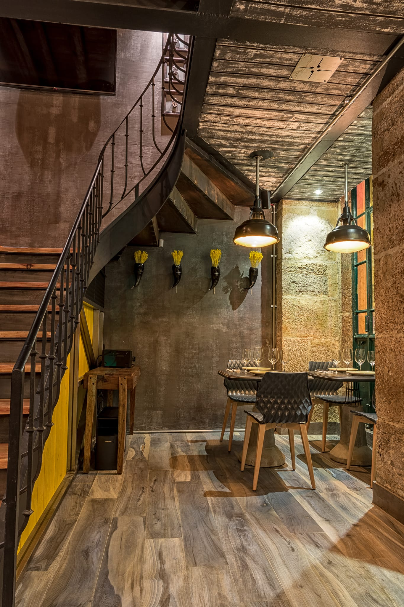 Ресторан Coffee Grill в историческом центре Лиссабона, HQ architecture, HQarch, HQ arch, high quality architecture