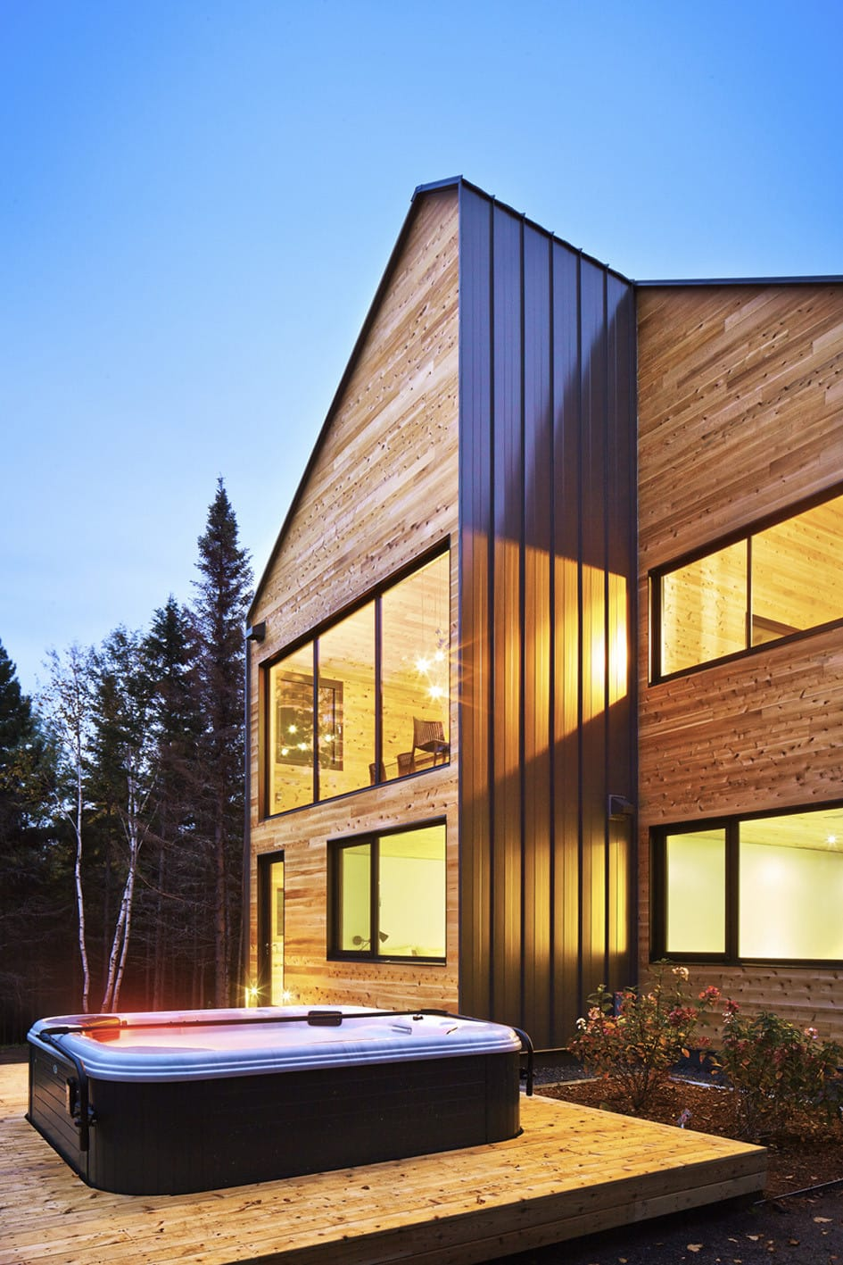 Резиденция Malbaie VIII в районе Charlevoix, Канада от MU Architecture, HQ architecture, HQarch, HQ arch, high quality architecture
